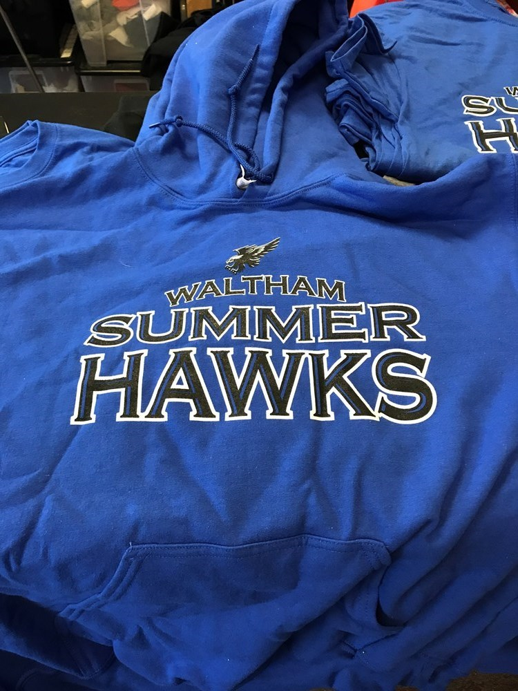 Summer Hawk Royal Blue Hoodie